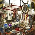 Fahrradkiste Verkaufsraum Bekleidung