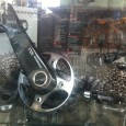 Sram xx1 Kurbel Schaltwerk Trigger Cassette Schaufenster 2