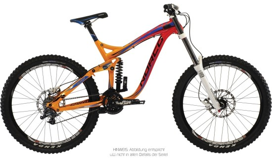 Norco Aurum 3 orange rot