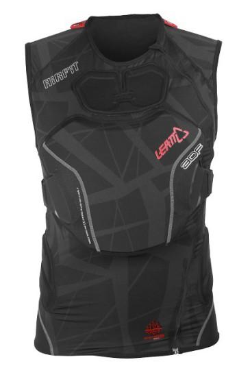 Leatt Brace Body Vest 3D Airfit schwarz vorne