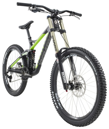 kona operator dh bike 2014 mit carbon hauptrahmen. Black Bedroom Furniture Sets. Home Design Ideas