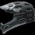 Bell Super 2R 2015 schwarz grau