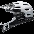 Bell Super 2R 2015 weiss schwarzschwarz