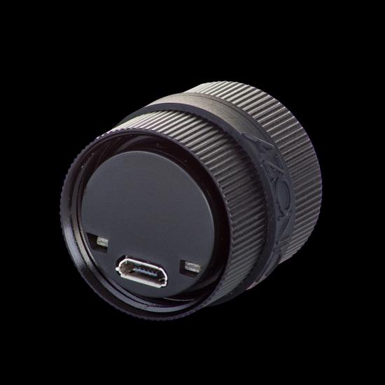 Azonic Sulu LED USB Ladebuchse Rückseite